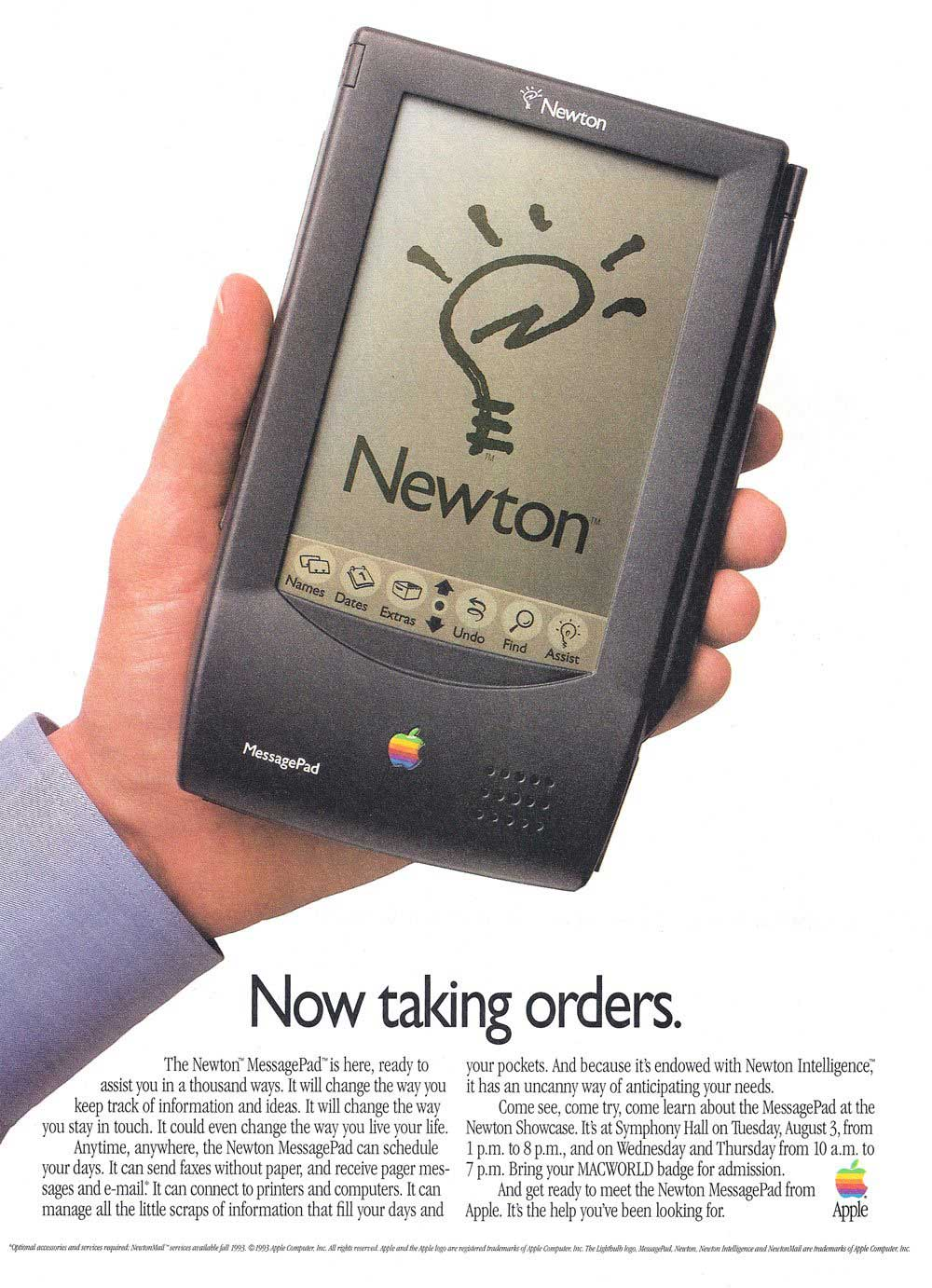 The original Apple Newton