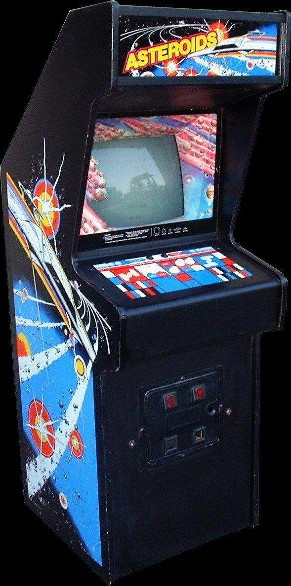 Asteroids, one of my first arcade experiences