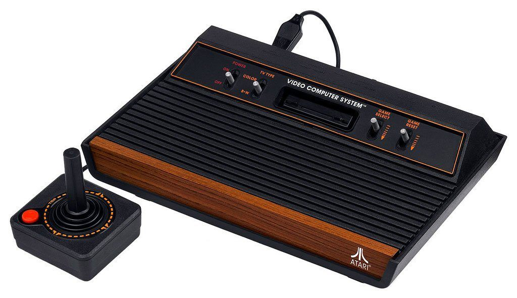 The Atari 2600, which I sadly never owned