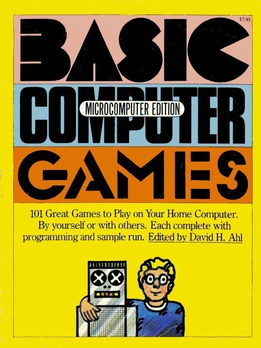 Classic book of text-based BASIC programs to learn from