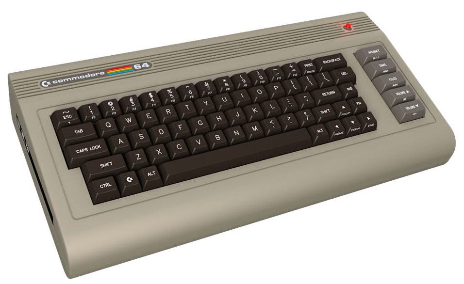 I wanted a Commodore 64 so bad...