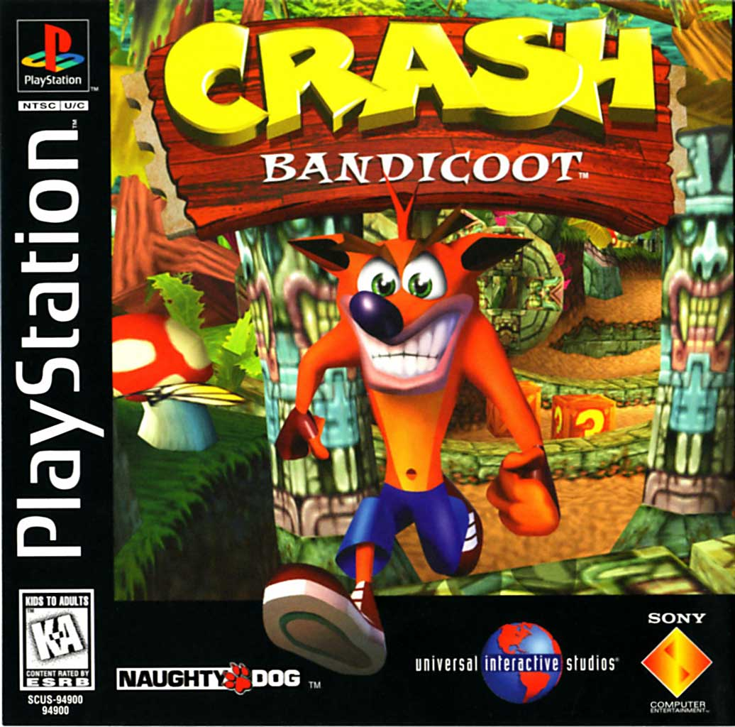 (The first) Crash Bandicoot was our big demo
