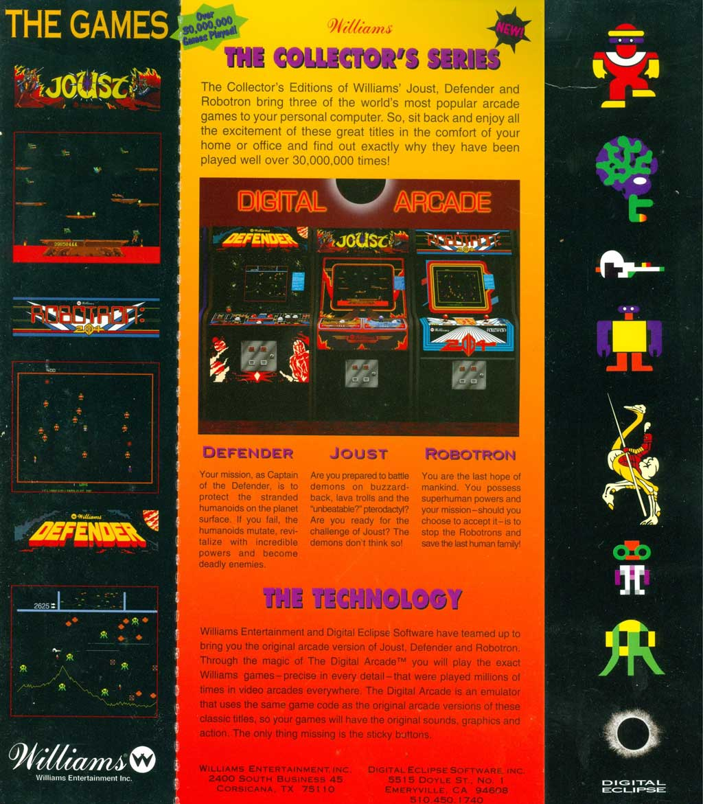 The first real arcade emulators I played