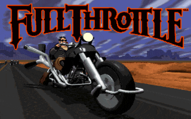 Full Throttle was the first SCUMM-based game I ported
