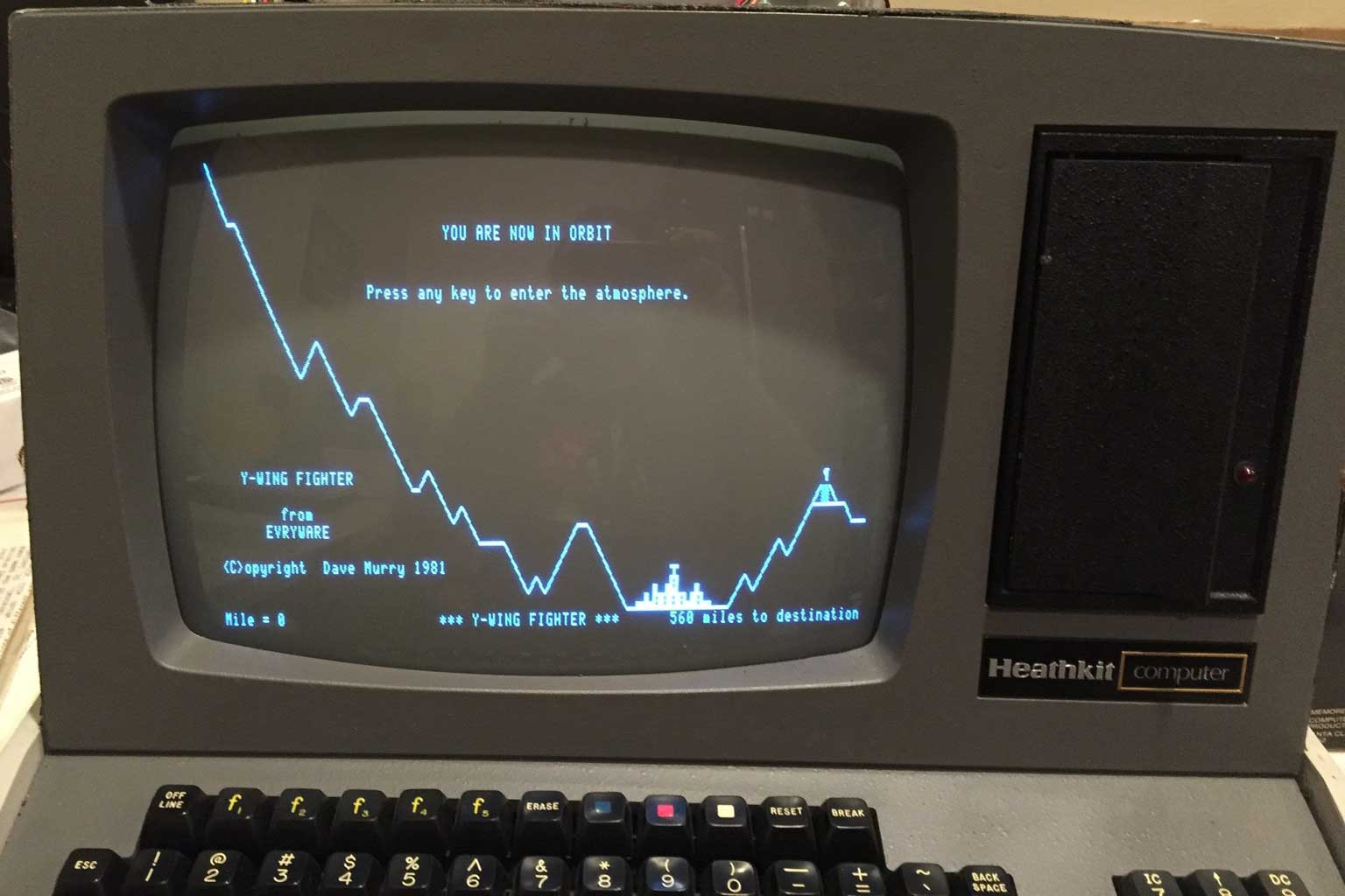 One of the old games I used to play on the Heathkit