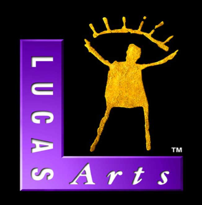 "The famous LucasArts ""Gold Guy"""