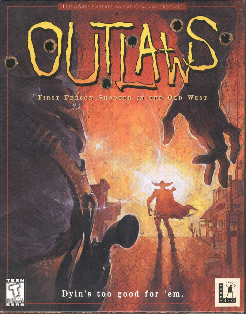 Outlaws was LEC's first full-fledged Windows game