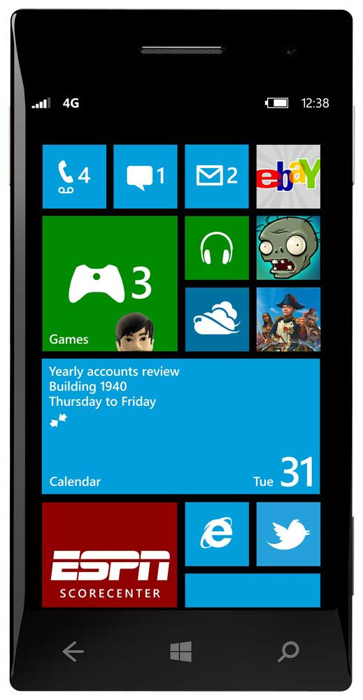 Windows Phone 8 was the first to run on top of Windows NT