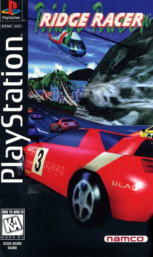Lucky for us, we had tested Ridge Racer