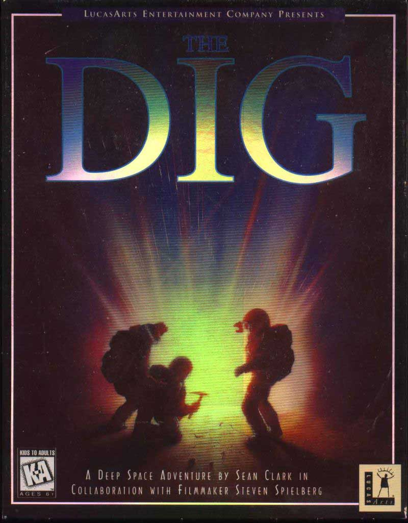 The Dig was the final DOS-based SCUMM game