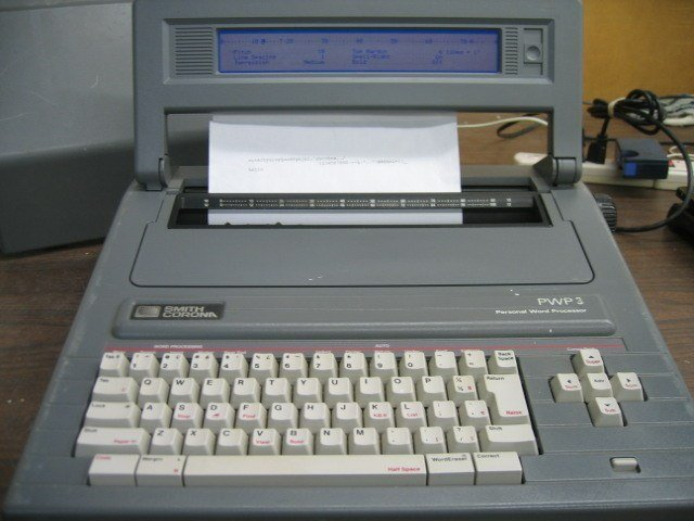 The little word processor I went to college with