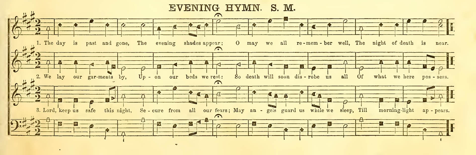 evening-hymn-christian-harmony